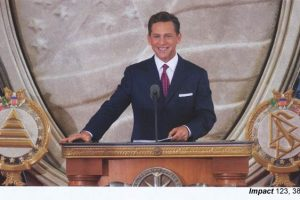 Scientology magazine: The Grand Opening of the Founding Church in the American Capital